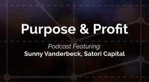 Sunny Vanderbeck Interviewed for Inaugural 'Purpose & Profit' Podcast Episode