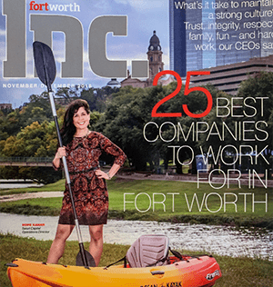 Satori Capital Wins Top Spot for the Second Time in Fort Worth 'Best Companies to Work For' Awards