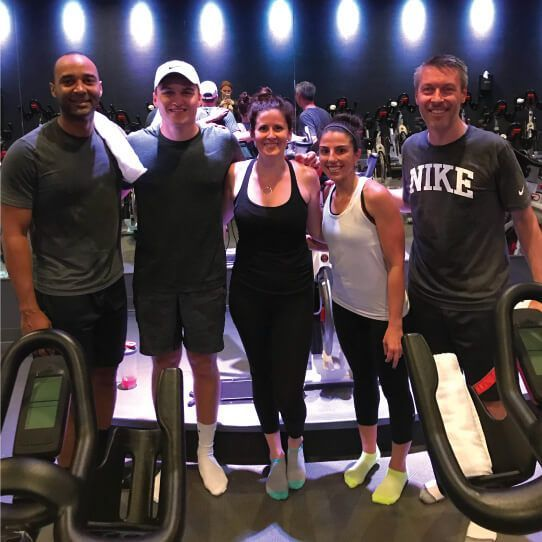 """Satori Sweats"" at Cyclebar"